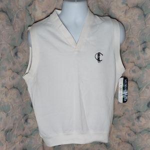 NWT vintage Munsingwear classic summer golf vest